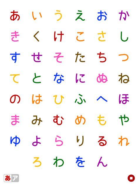 ひらがなとカタカナ 幼児子供向きのアルファベットのフラッシュカード フラッシュカード レタリング ひらがな アルファベット かわいい
