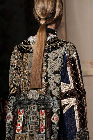See detail photos for Valentino Fall 2016 Couture collection.