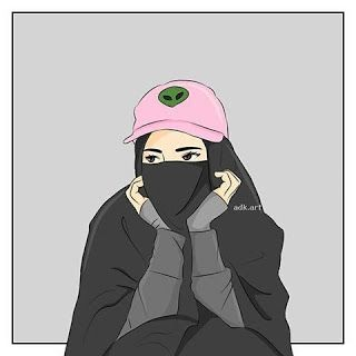 اجمل خلفيات بنات كيوت خلفيات محجبات للفيس بوك رسومات بنات منقبات 2021 Hijab Cartoon Anime Muslim Islamic Cartoon