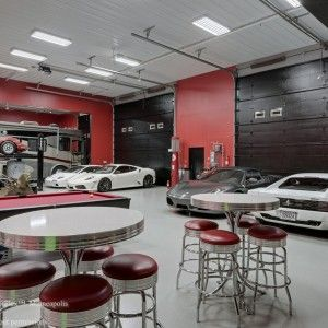Automotoplex Luxurious Garage Interior Design , Perfectly Complete Your  Classy Dream Home Living With These Highly Contemporary Custom Luxury Homesu2026