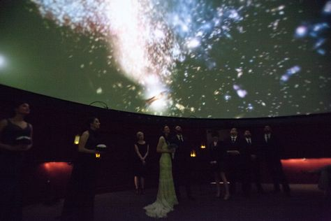 Wedding At Carnegie Science Center S Buhl Planetarium Weddings The Pinterest And