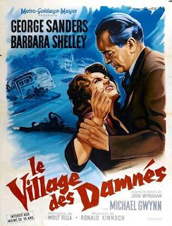 El Pueblo De Los Malditos 1960 Dvd Clasicocine In 2020 Great Sci Fi Movies French Movie Posters French Poster
