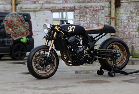 Gunnar's House of Customs' Zed – The Bike Shed