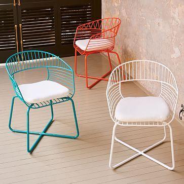 Soleil Metal Outdoor Bistro Chair | Norton | Mobilier de Salon ...