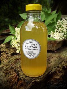 Syrop Z Kwiatow Czarnego Bzu Sowiarnia Aperol Drinks Herbs Mustard Bottle