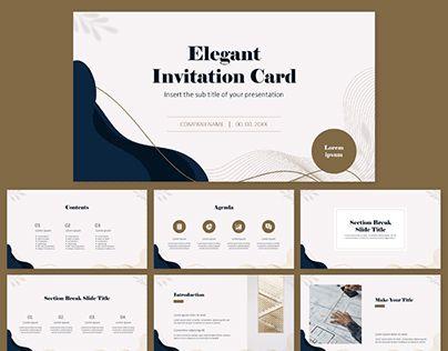 Elegant Free PowerPoint Template Google Slides Theme