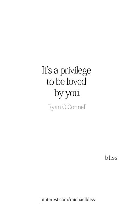 Michael Bliss - Love is lovely and warm….to be cherished. …and so very much appreciated - Love Quotes For Him, Cute Quotes, Words Quotes, Best Quotes, Sayings, Soulmate Love Quotes, Change Quotes, Wisdom Quotes, Love You