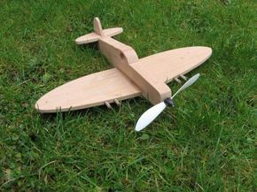 Simple Wooden Toy Spitfire Projects To Try Wood Toys