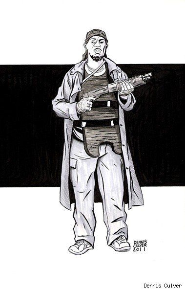 The Wires Omar Little By Dennis Culver