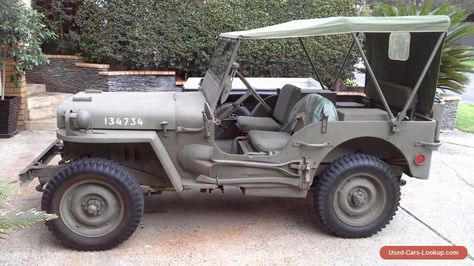 Jeep Military 1943 Ford Gpw Ford 4x4 Forsale Australia