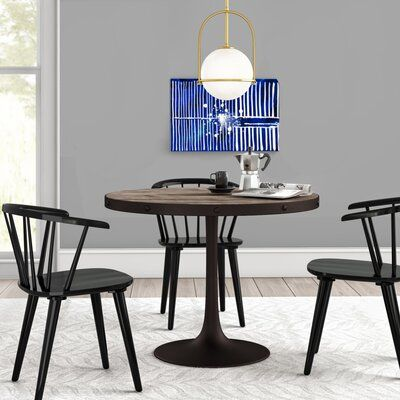 Amherst Industrial Dining Table Top Color Light Brown In 2020