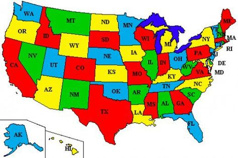 The Origins of the Names of All 50 U.S. States | social ...