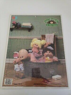 Advertisement Cabbage Patch Kids 25 Piece Jigsaw Puzzle Vintage 1984 Still In Plastic 9 10 In 2020 Cabbage Patch Kids Patch Kids Kids Bath