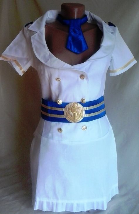 Captain Suit sailor costume for Sea Women by PartyCostumes on Etsy