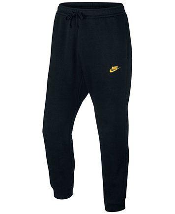 Nike Men's Fleece Jogger Pants | macys.com | Mens fleece ...