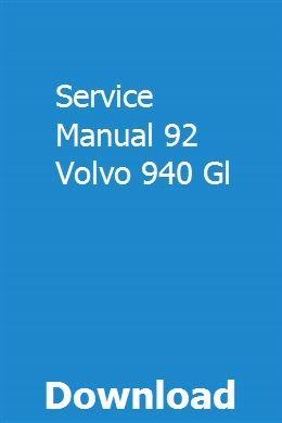 Volvo xc60 service schedule