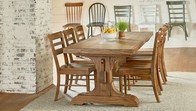 Magnolia Home Kempton Side Chair Jordan S Furniture Farmhouse Dining Farmhouse Dining Table Farmhouse Dining Room Table