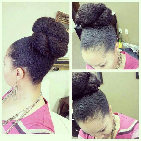 That bun!!