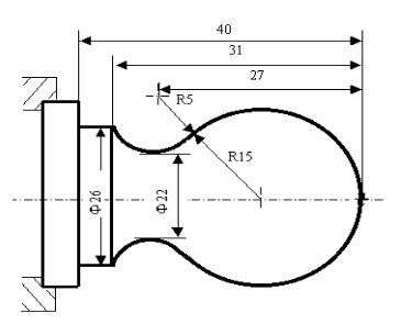 Cnc Arc Programming Example This Cnc Program Shows How Two Arcs G03 G02 Can Be Joint Together Cnc Programming Cnc Lathe Cnc Lathe Machine