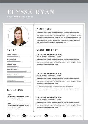 Cv Templates Editable Resume Cv Templates To Download Customize Resume Template Word Editable Resume Cv Template