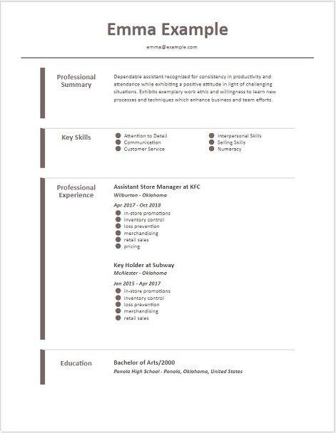 Nuik Noke Printable Free Resume Templates 2019 Downloadable Resume Template Free Resume Template Download Resume Templates