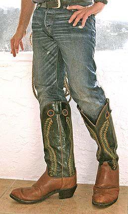 Jeans in BUCKAROO boots. | Stivali