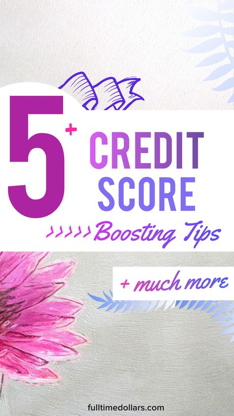 Boost Your Credit Score: Save Money In The Long-Run