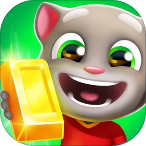 Talking Tom Gold Run By Outfit7 Limited Talking Tom My Talking Tom Going For Gold