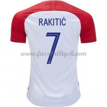 Fussball Trikots Kroatien Wm 2018 Ivan Rakitic 7 Heimtrikot Kurzarm Kroatien Wm 2018 Kroatien Wm Trikots