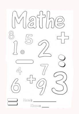 Mathematik Ausmalbild Gratis Ausmalbilder Malvorlagen Coloriage Coloringpages Math Mathematik Mathe Spruche Ausmalen Mathematik