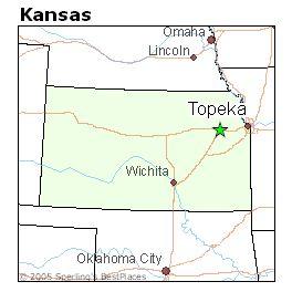 Best Place To Live In Topeka Kansas Kansas Kansas Map Salina