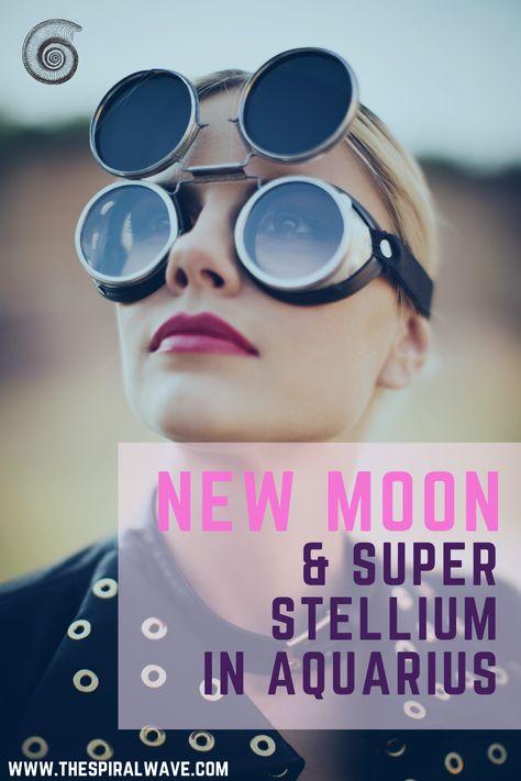 Six Celestial bodies are in Aquarius for a powerful event. The New Moon & Super Stellium in Aquarius will bring extraordinary possibilities! Astrology of 2021. Astrology of February 2021. New Moon. Aquarius. Stellium.