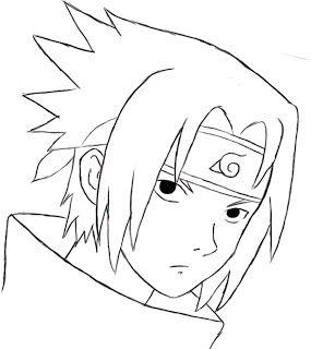 How To Draw Sasuke In 2020 With Images Sasuke Drawing Kakashi