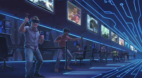 Canada's first virtual reality arcade: Visit our VR hub to play in virtual reality for the first time in Canada... When reality isn't enough