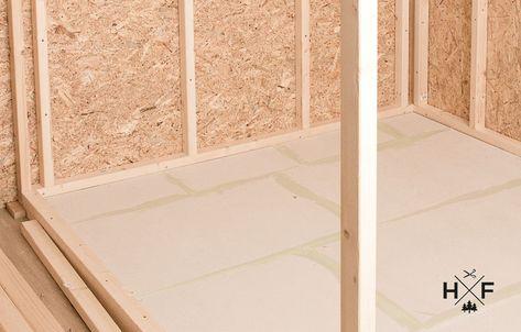 Unsere Diy Sauna Im Eigenbau Der Bodenaufbau Mit Dichtmasse Und Fliesen Handgemacht Fussgegangen Diy Sauna Aufbau Dichtmasse