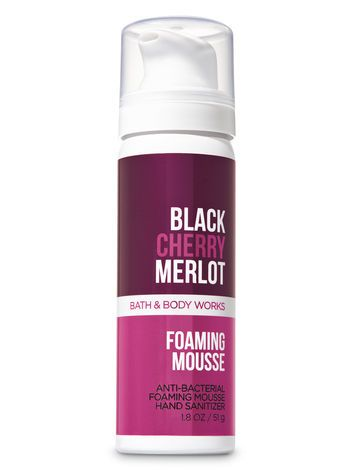 Black Cherry Merlot Foaming Hand Sanitizer Bath And Body Works
