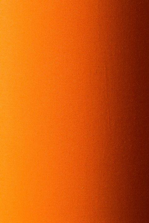 Handmade Tangerine Orange Drum Lampshade with Rose Gold Lining