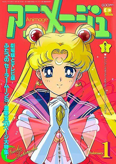 Poster Wall, Poster Prints, Wall Prints, Canvas Prints, Japanese Poster Design, Sailor Moon Usagi, Manga Covers, Magazine Wall, Magazine Covers