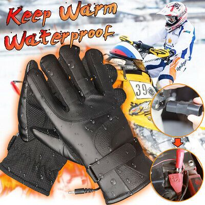 Details About Christmas Charge Electric Powered Touchscreen Winter Warm Heated Gloves Switch Heated Gloves Warm Gloves Warmest Winter Gloves