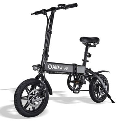 Alfawise X1 Black 7 8ah Battery Electric Bikes Sale Price