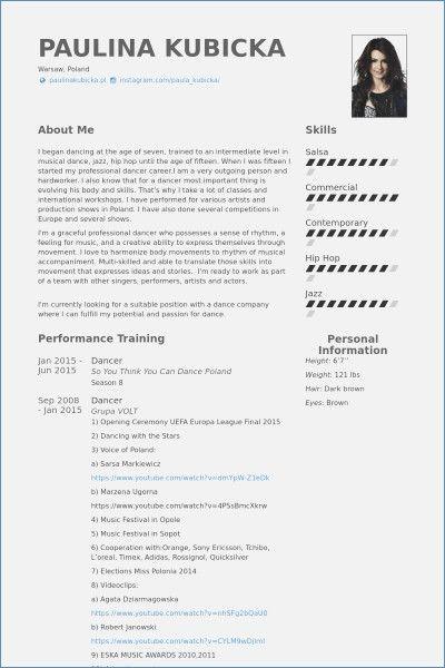 Dance Resume Template Hudsonhs Dance Resume Resume Template Acting Resume Template