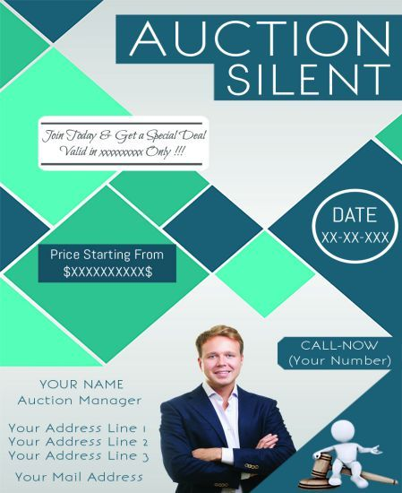 Silent Auction Flyer: 10 Eye-Catching Flyer Templates For Free