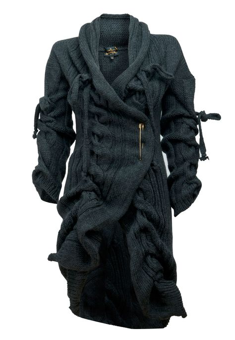 Chunky Knit Cardigan | Vivienne Westwood  I might need to start a lifelong quest to own this