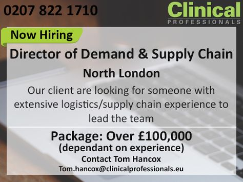 Do you have extensive #logistics  #supplychain experience? If yes - logistics job description