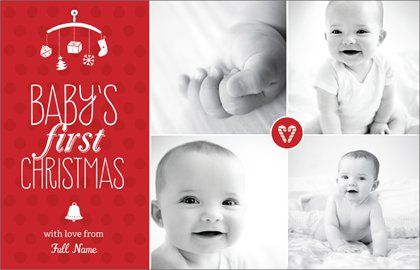 Holiday Cards Templates Designs Page 2 Vistaprint Holiday Card Template Christmas Card Template Babies First Christmas
