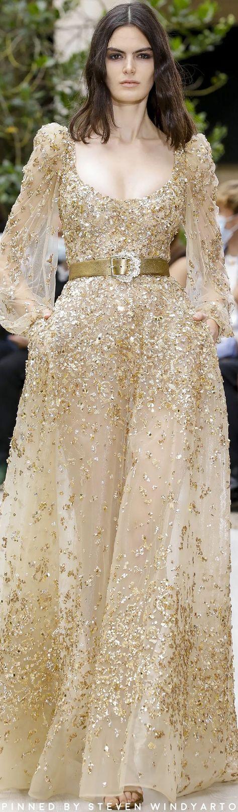 Zuhair Murad Fall 2021 Couture Fashion Show #fall2021couture #fw21 #womenswear #hautecouture #zuhairmurad