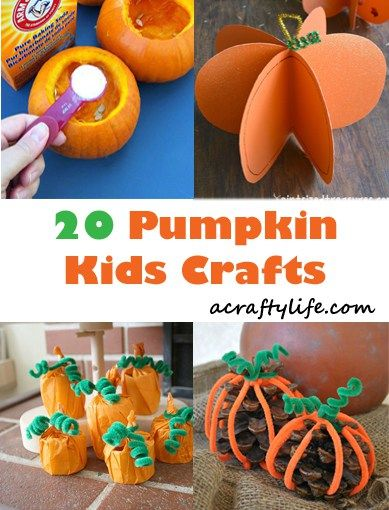 Pumpkin Kid Crafts - Celebrate Fun Fall Activities | Fall