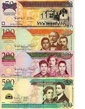 Dominican Republic Caribbean Currency