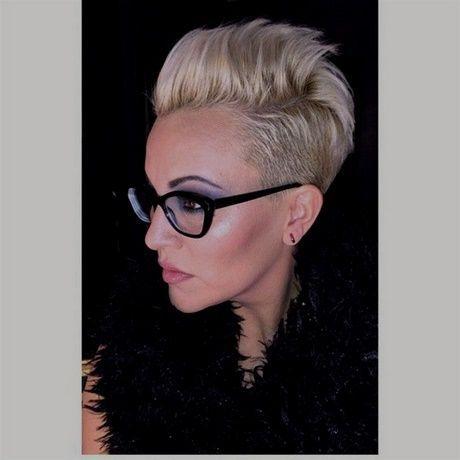 List Of Kurzhaarfrisuren Damen Blond Brille Ideas And