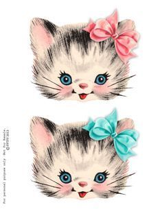 free clip art is part of Clip art vintage - free clip art Pretty Kitty Cat Images Images Vintage, Vintage Cat, Vintage Pictures, Vintage Stuff, Vintage Drawing, Retro Vintage, Vintage Clipart, Cat Clipart, Vintage Valentines